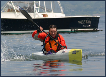 Different Perspective on Things from the Tail End Pig – by David Joblin – Sakonnet River Race 2009